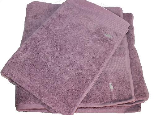 Polo Ralph Lauren Home 2 towel set Mat Bath Sheet Lilac JK26