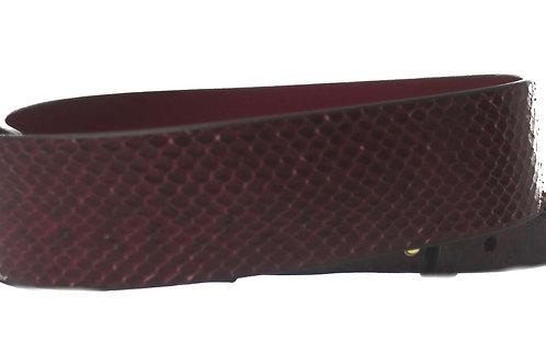 MK Michael Kors Shoulder Croc Print Guitar Leather Handbag Strap