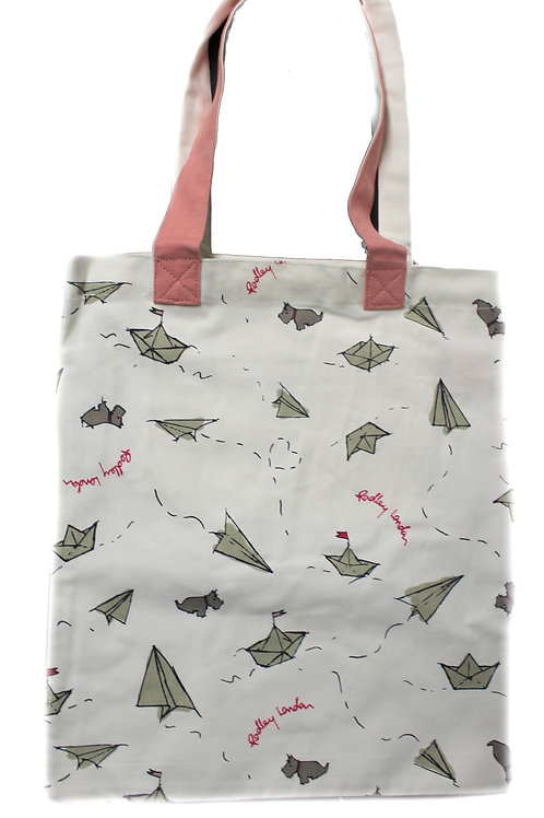 Radley Large Tote Canvas London Sailing IS17