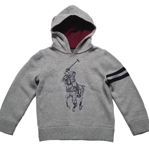 Polo Ralph Lauren Kids Childrens Iconic Hoody Jumper Hooded MU86