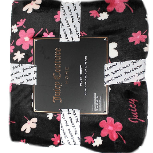 Juicy Couture Plush Home Throw Blanket 127*178cms KW22