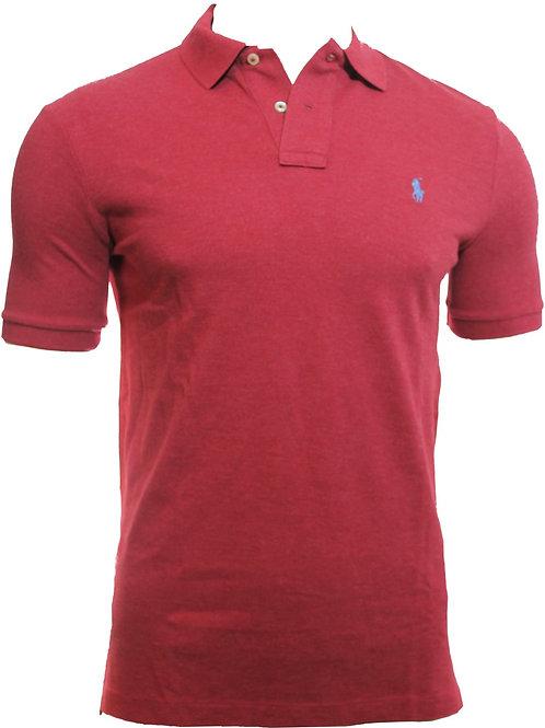 Polo Ralph Lauren Short Sleeve Red Top Tee t-shirt Polo Shirt Am15