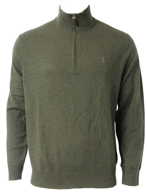 Polo Ralph Lauren Merino Wool Half-Zip Jumper Sweater KW42