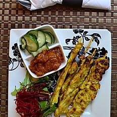 Chicken satay (4)