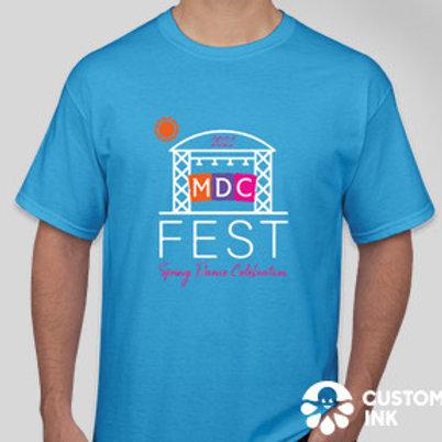 T-shirt 2021 mdc Fest