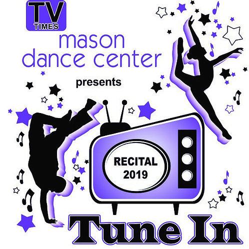 2019 Recital DVD