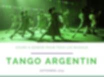 Tango Argentin - Cours débutants (premiers pas)