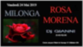 Milonga Rosa Morena