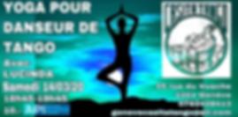 Yoga pour danseurs de tango