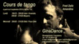 Cours de tango GinaDance avec Fred & Amandine