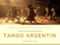 Tango Argentin - Cours tous niveaux