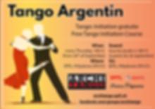 Tango: Initiation gratuite / Free Tango Initiation Course