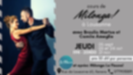 Cours de milonga avec Braulio Martos & Camila Ameglio (1/4)