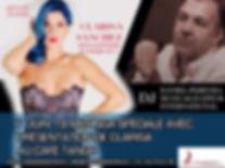MILONGA SPÉCIALE DE PRÉSENTATION DE CLARISA SANCHEZ / DJ: DANIEL PEREYRA