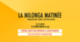 CocoGardel: La Milonga Matinée / DJ Florin Bílbiie (Loz)
