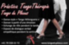 Practica de Tango Thérapie du Plexus au Fleuve