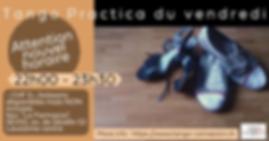 Practica du Vendredi - Tango Connexion