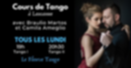 Tango à Lausanne avec Braulio Martos & Camila Ameglio