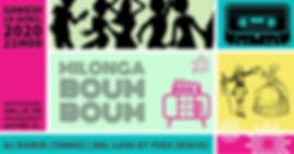 "Milonga ""BoumBoum"" / DJ Sigrid (tango) - Del Luis & Yves (disco)"