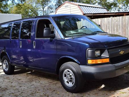 VVA Chapter 1030 Gives Van to Homeless Shelter