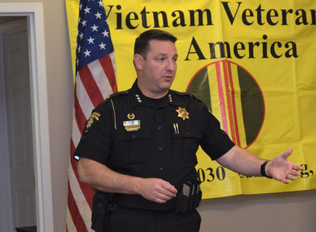 Sheriff Freeman Visits Cumming Vietnam Veterans