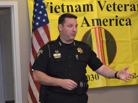 Sheriff Freeman Visits Cumming Vietnam Veterans