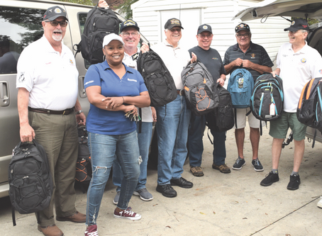 Cumming Vietnam Veterans provide support to homeless shelter