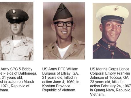 Scholarships Named for Veterans Killed in Action
