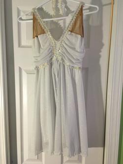 White Skating Dress
