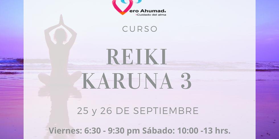 CURSO: Reiki Karuna III