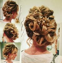 Megan, Bride Wedding Practice
