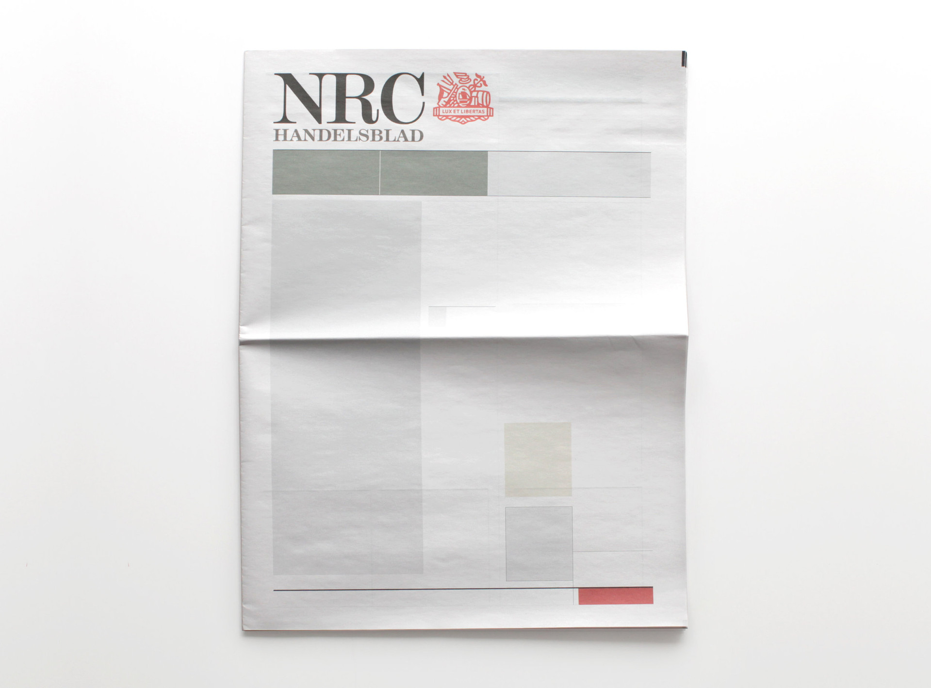 NOTHING IN NRC: Newspapers from around the world with nothing in them.
