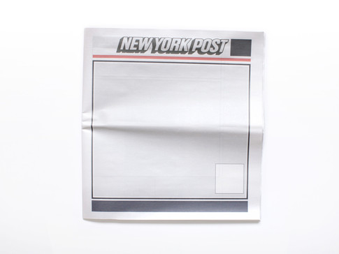NOTHING IN THE NEW YORK POST