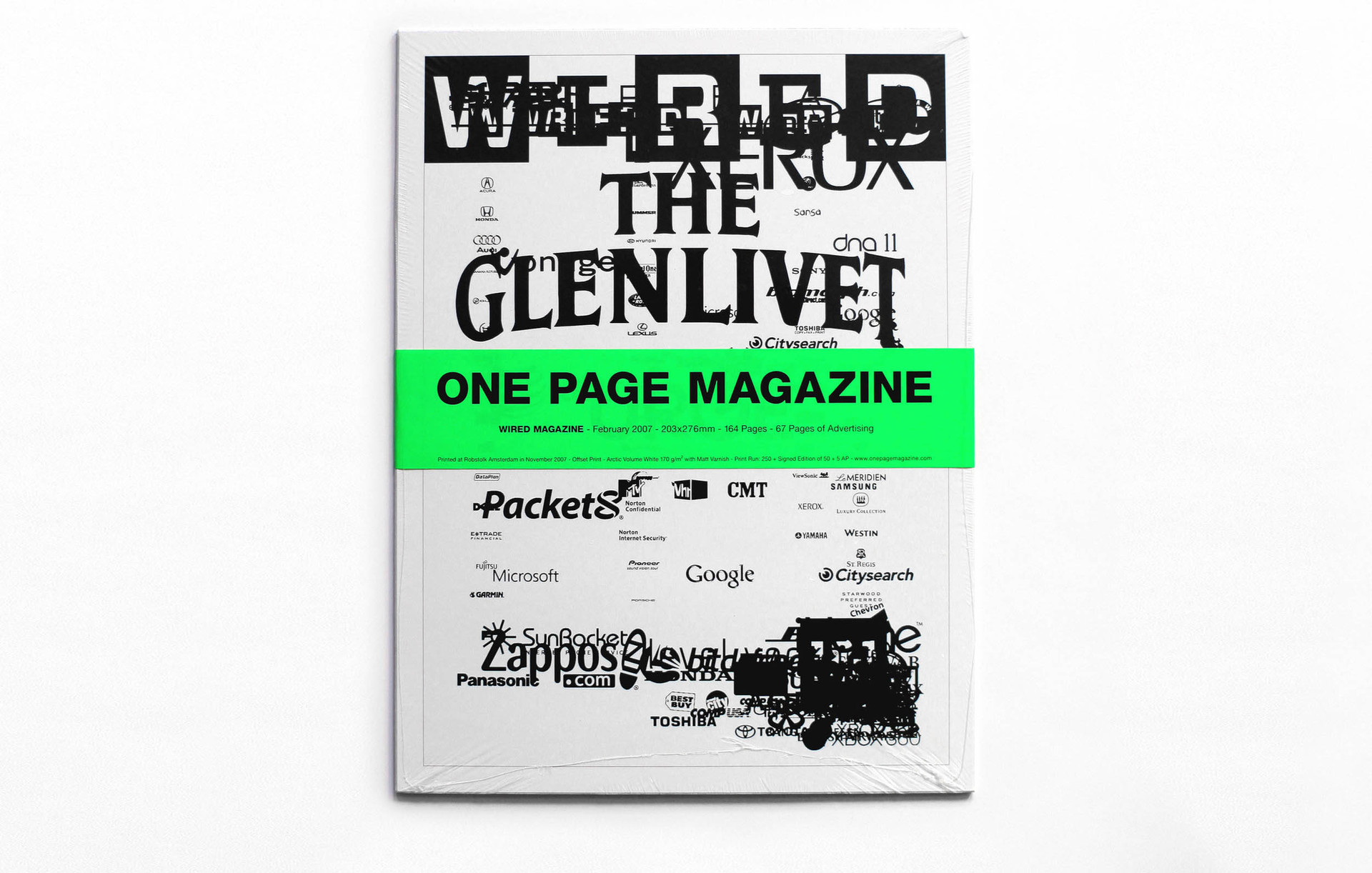 ONE PAGE MAGAZINE