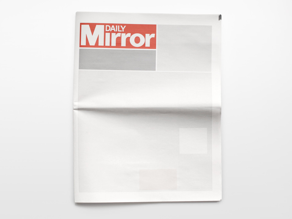 NOTHING IN THE DAILY MIRROR