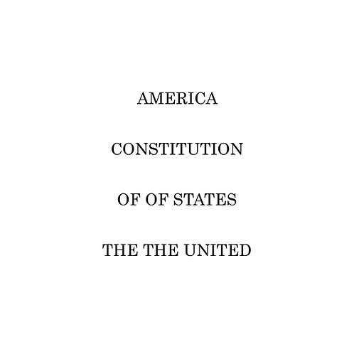 AMERICA CONSTITUTION OF OF STATES THE THE UNITED (eBook version)