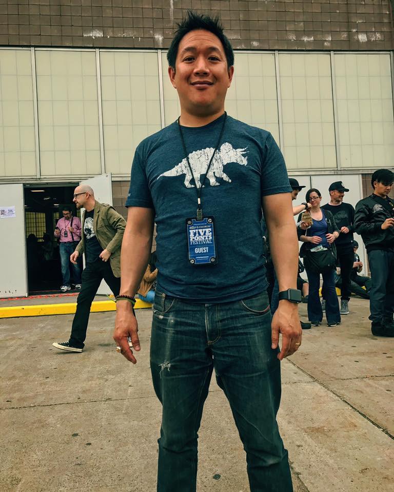 Ming Chen, comic book man!
