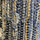 Thumbnail: Recycled denim and woven Jute Rug