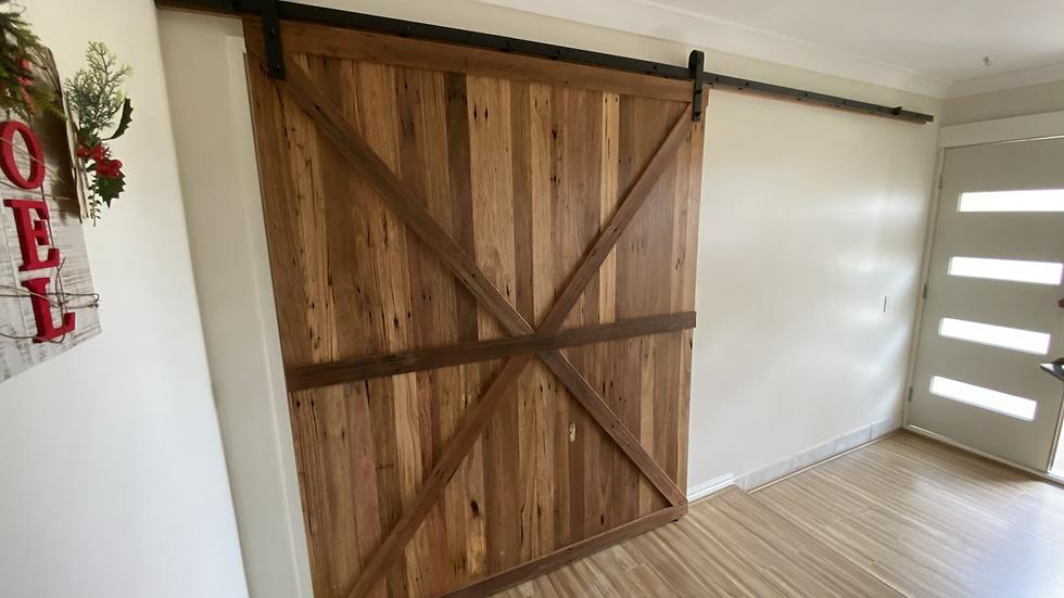 Custom australian made barn doors