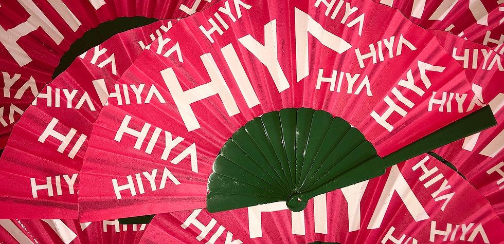 HIYA cazza fan
