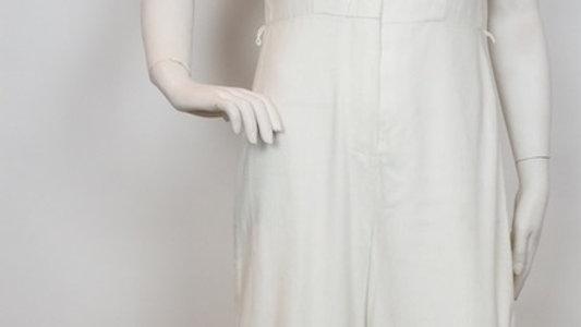 Vintage ivory 70's M7S jumpsuit