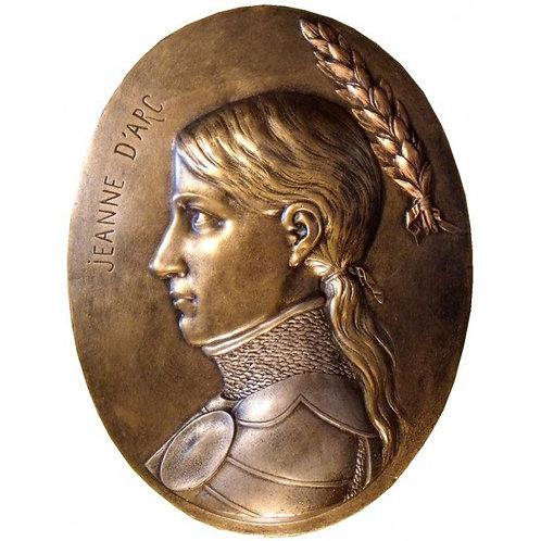 Médaillon Jeanne d'Arc
