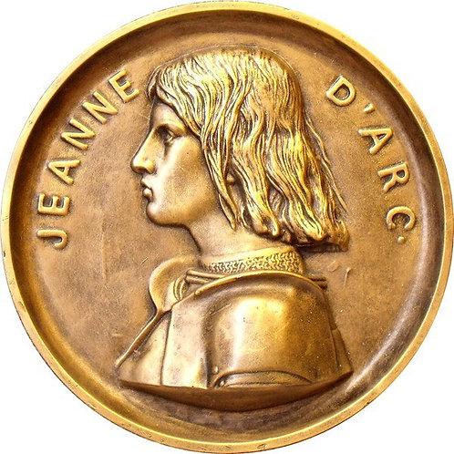 Médaillon Jeanne d'Arc (grand modèle)