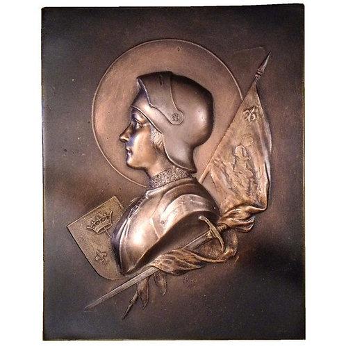 Jeanne d'Arc en armure