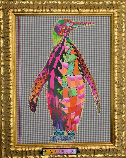 Animaltorium-Ausmalbuch | Pinguin