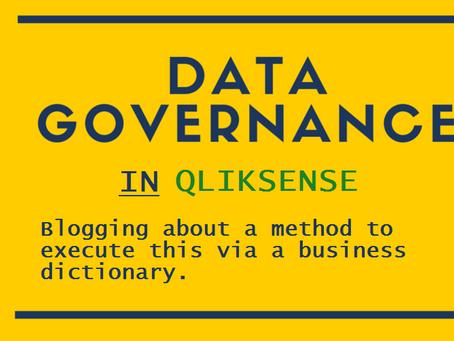 Data governance in QlikSense (Part 5 - Final)