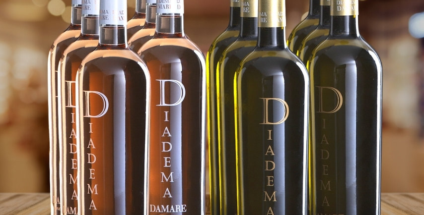 D'AMARE BIANCO e ROSATO 12 Bottiglie