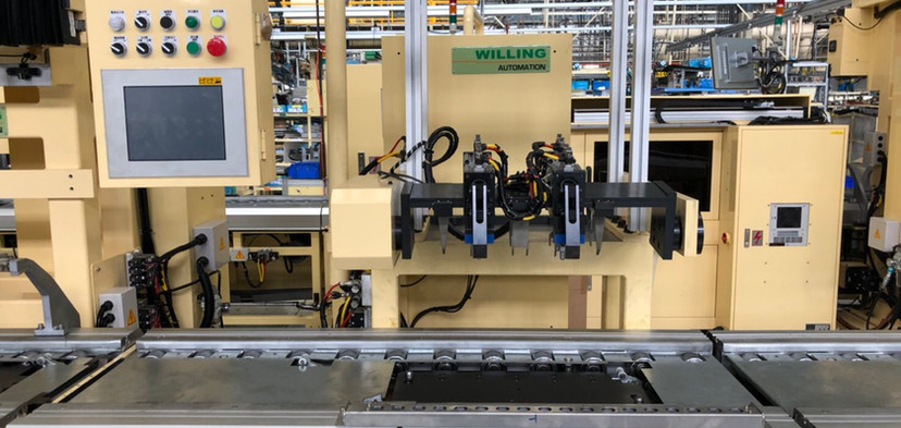 Willing-engine assembly line