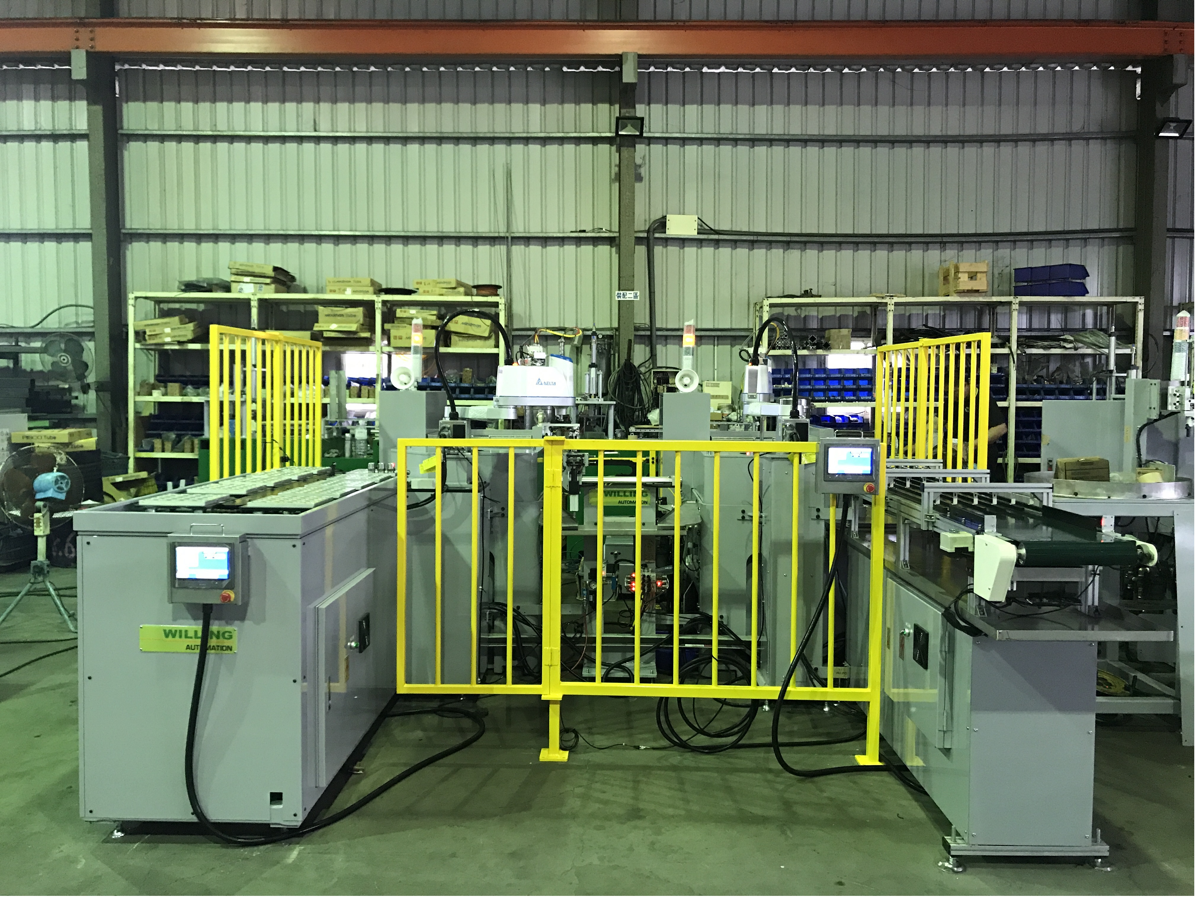 Rolling equipment with automation