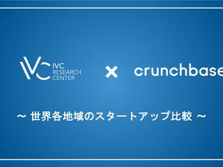 【IVCレポート】資金調達時間からみる世界各地のスタートアップ比較 - IVC、Crunchbaseと提携